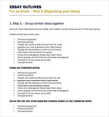 outline template for essay essay outline template    download free documents in pdf word essay outline template