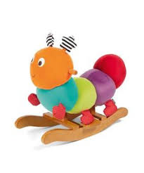 mamas papas toddlers infants rocking animal babyplay charlie caterpillar baby sit and ride soft baby nursery cool bee animal rocking horse