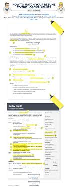 5 things you re forgetting to do before sending your resume match your resume infographic