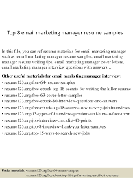 s sales a good sales resume how to write a killer sales resume    top  email marketing manager resume samples