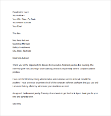 Sample Thank You Letter After Phone Interview - 12+ Free Documents ... Free Thank You Letter after Phone Interview