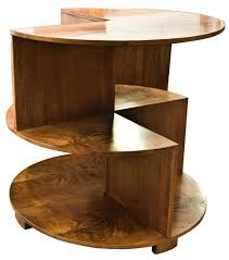 art deco circular cube table british c1930 the old cinema antique furniture antique furniture apothecary general