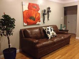 need help with accent wall color brown furniture wall color