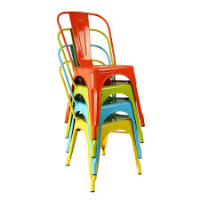 xavier pauchard tolix marais style colourful metal chair chairs xavier pauchard