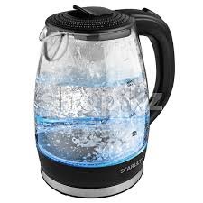 ᐈ <b>Чайник Scarlett SC-EK27G53</b>, Black-Glassy – купить в интернет ...