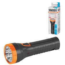 <b>Фонарь</b> светодиодный ТРОФИ TA7, <b>7</b> х LED, <b>аккумуляторный</b> ...