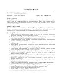 restaurant manager job description com restaurant manager job description position summary