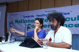 Rosie and peter recently spoke at the national permaculture conference of India