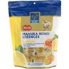 Manuka Health, Manuka Honey Lozenges, MGO 400+, Lemon, 58 ...