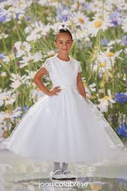 First Communion <b>Dresses</b> | Joan Calabrese | Mon Cheri <b>White</b> Ball ...