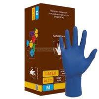 «<b>Перчатки латексные High</b> risk Clean+Safe, размер М ...
