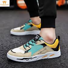 Mesh Breathable <b>Men's</b> Color Matching <b>Skateboard</b> Shoes <b>Casual</b> ...