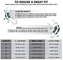 PHZ. Adult Knee Pads <b>Elbow</b> Pads Wrist Guards <b>3 in 1</b> Protective ...
