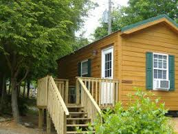 bear cabin small garden