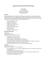 administrative assistant resume career objective sample customer administrative assistant resume career objective sample job objective statements for administrative assistants assistant resume objective admin