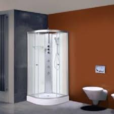 cabinets uk cabis: alto  mm x mm hydro massage shower cabin polar white