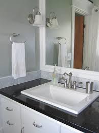 bathroom light brushed nickel black countertop  images about bathroom on pinterest bathroom interior bathroom sink de