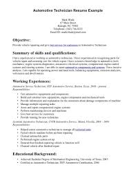 sample cv mechanic cover letter resume examples sample cv mechanic automotive mechanic resume example sample automotive technician resume skills resume templates