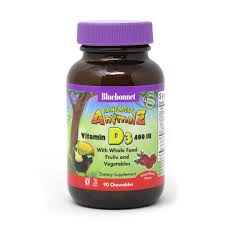 <b>RAINFOREST ANIMALZ</b>® VITAMIN D3 400 IU FOR CHILDREN ...