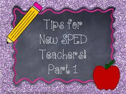 a special sparkle tips for new special education teachers tips for new special education teachers working paraprofessionals