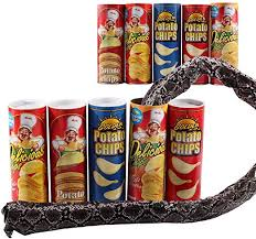 Ouken <b>1 PCS</b> Tricky Toys <b>Potato Chip</b> Snake Can Jump Fake Snake ...