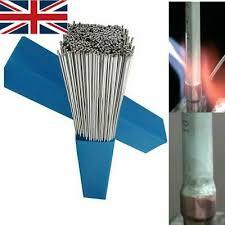 UK <b>50PCS</b> Silver Aluminium Welding Brazing Rods Wire <b>Low</b> ...