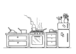 Small Picture Cooking Acitvity in the Kitchen Coloring Pages Download Print