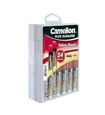 <b>Батарейка</b> AA - <b>Camelion</b> Alkaline Plus LR6 LR6-PB24 (24 штуки ...