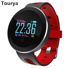 <b>Tourya</b> Q8 Pro IP68 <b>Waterproof</b> Unisex Fitness Tracker <b>Smart</b> Watch ...