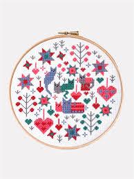 """<b>Набор для вышивания</b> крестом """"Hoop Cat & Kittens"""" <b>Riverdrift</b> ..."""