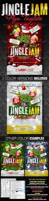 christmas party flyers premium files psddude jingle jam christmas party flyer template