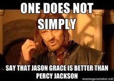 Percy Jackson Memes on Pinterest | Funny Percy Jackson, Percy ... via Relatably.com