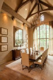 style dining room paradise valley arizona love: formal dining room with lovely trussed ceiling