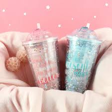 <b>JOUDOO</b> Candy Color 420ML Water Bottle For Girls Cute Star ...