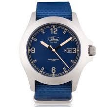 <b>Наручные часы</b> Land Rover Heritage Watch, <b>Silver</b> / Blue, артикул ...