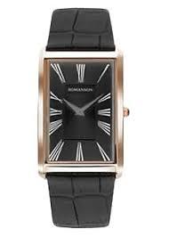 <b>Часы Romanson TL0390MR</b>(<b>BK</b>) - купить мужские наручные <b>часы</b> ...