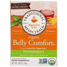Traditional Medicinals, Digestive Teas, Organic Belly Comfort ...