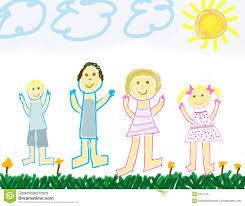 Znalezione obrazy dla zapytania rodzina obrazki dla dzieci
