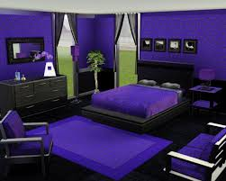 choose purple wallpaer for cute room ideas with dark platform bed and purple duvet near dark awesome great cool bedroom designs