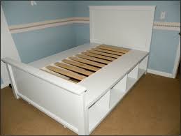 white twin storage bed plans building frame day bed