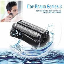 <b>Shaver</b> Blade <b>Foil</b> Head <b>Replacement</b> for Braun Series 3 <b>21B</b> 320 ...