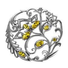 <b>Серебряные броши</b> | Броши из серебра 925 пробы | <b>Ювелирные</b> ...