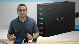 AUKEY USB 6 Port Charger with <b>Dual Quick Charge 3.0</b> Review ...
