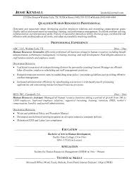 professional resume format for hr hr manager resume samples    human resources resume objective examples with professional experience and technical skills   resume sample hr