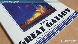 the great gatsby literary analysis videos lessons com first line of the great gatsby analysis