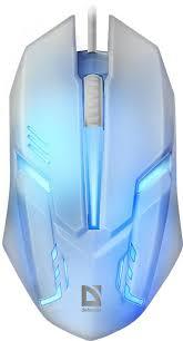 Купить компьютерную <b>мышь Defender Cyber</b> MB-560L white в ...