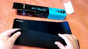 Обзор <b>коврик для мыши A4tech</b> X7 300 MP - YouTube