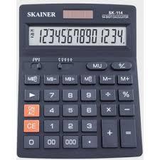 <b>Калькулятор SKAINER</b> 14 разр. <b>SK</b>-<b>114</b> - ООО «Канцпроф»