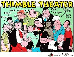 「Elzie Crisler Segar, popeye, simple theater」の画像検索結果