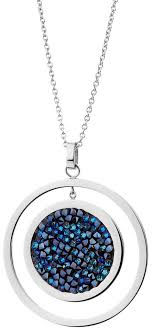 Стальной <b>медальон Elixa</b> EL129-2493 с кристаллами — купить в ...